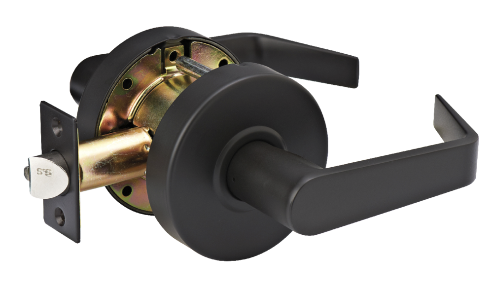 Heavy Duty Commercial Cylindrical Lockset Passage Lever